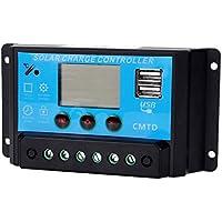 Binwo 10A 12V / 24V regolatore di carica solare, regolatore