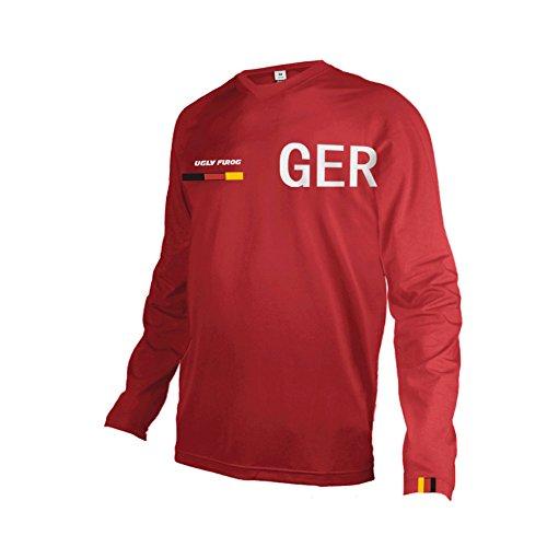 Uglyfrog 2018 Herren Jersey Motocross Mountain Bike Downhill Sports Wear Atmungsaktiv Shirt Sommer&Frühling Style