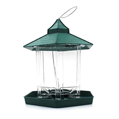 ZHANGZHIYUA Hängender Pavillon Wild Bird Feeder -Perfekt für Gartendekoration und Vogelbeobachtung für Vogelliebhaber und Kinder