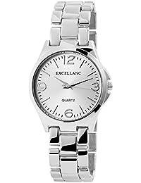 Excellanc llanc Analog Mujer reloj, metal, Ø 36mm-150122000012