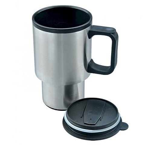 400ml 396,9gram en acier inoxydable Flasque de chaleur Mug de voyage isotherme Tasse mug de