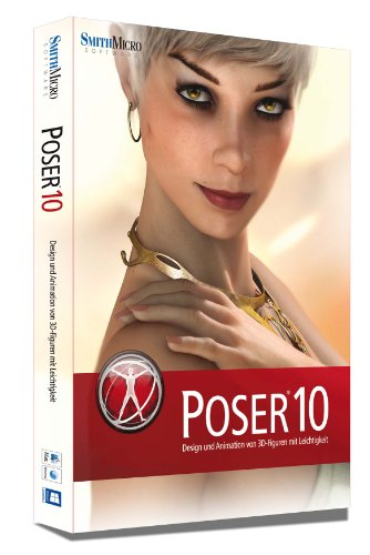 Poser 10 Box dt. Mac/Win (Blender Animations-software)