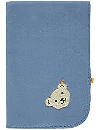 Steiff Unisex Baby Schal Decke Fleece 65 x 95 cm