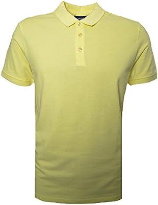 Armani Jeans Men's Yellow Polo Shirt