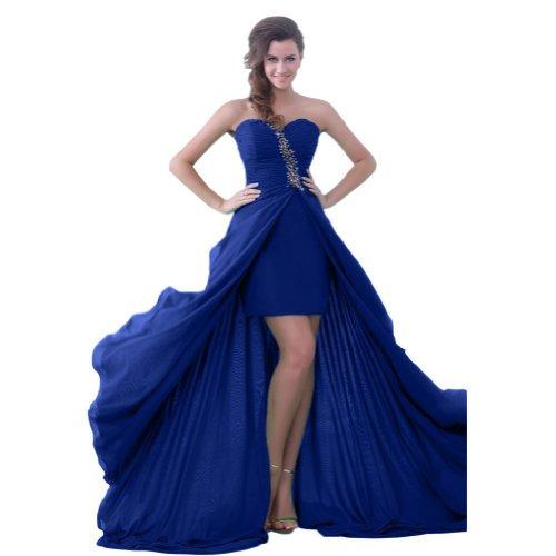 Lemandy - Robe -  Femme Custom-made Size Bleu - Noir foncé