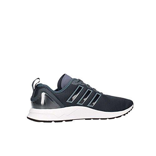 adidas ZX Flux ADV, Chaussures de Running Compétition Homme Noir-Gris