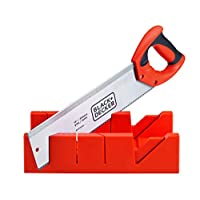 Black+Decker Mitre Box with Saw, BDHT20346