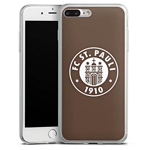 Apple iPhone X Slim Case Silikon Hülle Schutzhülle FC St. Pauli Fanartikel Fußball Silikon Slim Case transparent