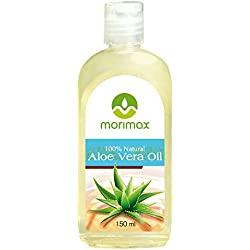 Morimax 100% natürliches kaltgepresstes Aloe Vera Öl für Ihre Haut | Virgin Natural Aloe Vera Oil 150ml
