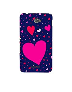Aart Designer Luxurious Back Covers for Sony Xperia E4