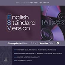 ESV COMPLETE BIBLE ON MP3 CD