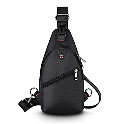 Sling Bags Backpack Chest shoulder Bags for Men/Women-Rophie Sling Travel Chest Bag Cross Body Bag School Bag for Cycling Hiking Camping Gym - low-cost UK light shop.