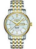 Roamer Mercury II Men's Automatic Watch with Silver Dial Analogue Display and Two Tone Stainless Steel Bracelet