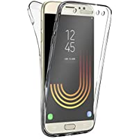 Coque Gel Samsung Galaxy J3 2017 , Buyus Coque 360 Degres Protection INTEGRAL Anti Choc , Etui Ultra Mince Transparent INVISIBLE pour Galaxy J3 (2017) J320 , Coque J3 2017