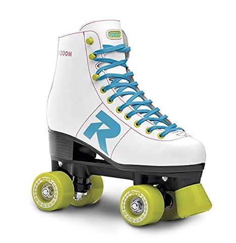 Roces Erwachsene Mazoom Rollerskates / Rollschuhe Street, White, 39