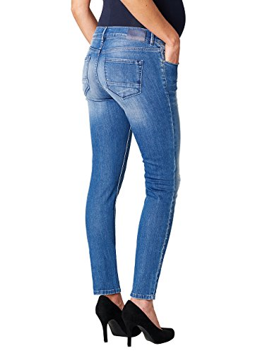 Noppies Damen Umstandsjeans Blau (mid Blue C300)