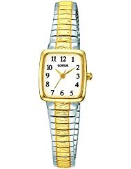 Lorus Hombre Reloj de pulsera analógico cuarzo, revestimiento de acero inoxidable RPH58AX9