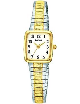 Lorus Watches Damen-Armbanduhr Klassik Analog Quarz Edelstahl beschichtet RPH58AX9