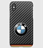 Carbon & BMW, coque pour iPhone XS, XS Max, XR, X, 8, 8+, 7, 7+, 6S, 6, 6S+, 6+, 5C,...