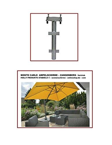 MONTE CARLO - ERDROHR PREMIUM - UND FÜR ZANGENGERG AMPELSCHIRME - MONACO - SAINT TROPEZ - GRENADA - JAMAICA - DAS ERDROHR PREMIUM - ebenerdiger Einbau - VERTRIEB HOLLY PRODUKTE STABIELO - holly mobiler Sonnenschutz-mobile sunshade holly ® -