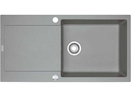 Preisvergleich Produktbild Franke Maris MRG 611-100 XL Steingrau Granit Spültisch Einbauspüle Spülbecken