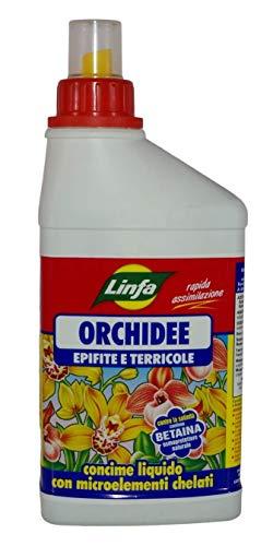 FERTILIZZANTE LIQUIDO PER ORCHIDEE EPIFITE E TERRICOLE CONFEZIONE DA 500 ML