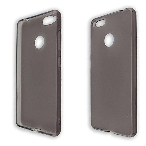caseroxx TPU-Hülle für Archos Diamond Alpha/Diamond Alpha Plus, Tasche (TPU-Hülle in schwarz-transparent)