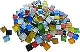 Fliesenhandel Fundus 400g 10x10 Mosaiksteine Softglas bunt ca 440 Stück Mosaik 1x1