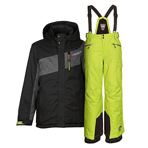 Killtec Herren Skianzug Skijacke + Skihose Farb- und Größenwahl (schwarz, XL)