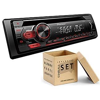 Pioneer-DEH-S110UB-1-DIN-Autoradio-mit-CD-USB-AUX-fr-Citroen-C5-2004-2008