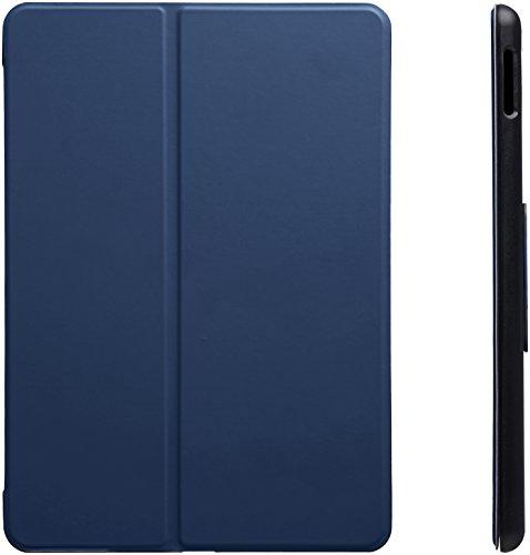 AmazonBasics New iPad 2017 Smart Case Auto Wake/Sleep Cover, Navy, 9.7
