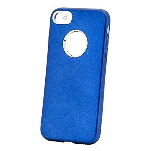 X-One Funda TPU Aluminio iPhone 7 Azul
