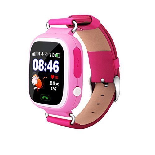 Q90 Smart Watch Kids SOS Alarm Clock GPS WIFI Bluetooth Anti Lost SIM Card For Childrens Smart Watches Phone Gift