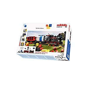 41nF%2B9VH79L. SS300  - Märklin 29730 Start up-Startpackung Bausteinzug mit Sound und Lichtbausteinen. 230 Volt, Spur H0