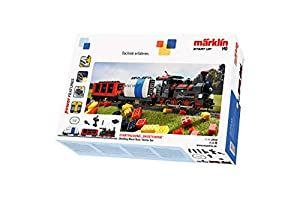 Märklin Start up - Building Block Train Starter Set Modelo de ferrocarril y Tren - Modelos de ferrocarriles y Trenes (HO (1:87), Niño/niña, 15 año(s), Multicolor, Corriente alterna, Batería, AAA)