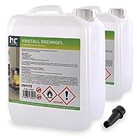 Wenn Ihr Ethanol-Kamin mit Bio Ethanol Brenngel betrieben wird, und Sie einen Qualitätsbrennstoff zu günstigen Vorratspreisen suchen, liegen Sie bei diesen 30 leicht zu befüllenden Literflaschen absolut richtig! Unser Bio Ethanol Brenngel wurde nämli...