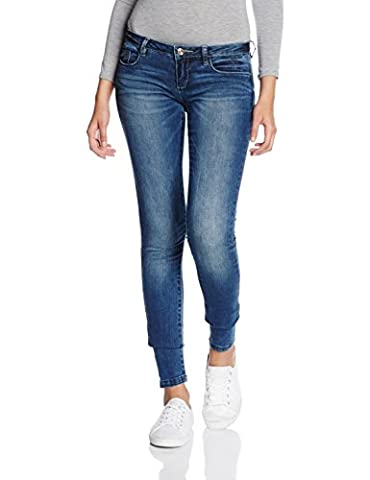 ONLY onlCORAL SL DNM JEANS GUA12919 NOOS, Jeans Femme, Bleu (Medium Blue Denim), W27/L34 (Taille fabricant: