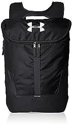 Under Armour Unisex Ua Expandable Sackpack, Black, One Size