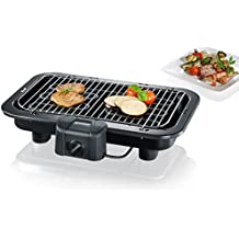 Severin PG 2790 - Barbacoa de Grill 2500 W, Ajustable a 2 Alturas, microinterruptor de Seguridad, termostato Ajustable