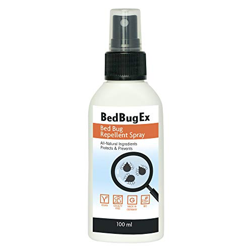Repellente cimici BEDBUGEX | Repellente insetti anti-cimici | Spray 100ml | Alternativa...