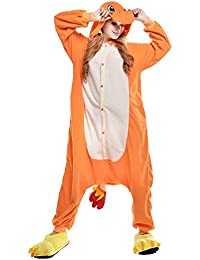 Free Fisher Damen/ Herren Schlafanzug Pyjama, Tier Kostüm