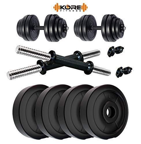 KORE DM 8KG COMBO16 Home gym   Fitness Kit, 2 kg x 4