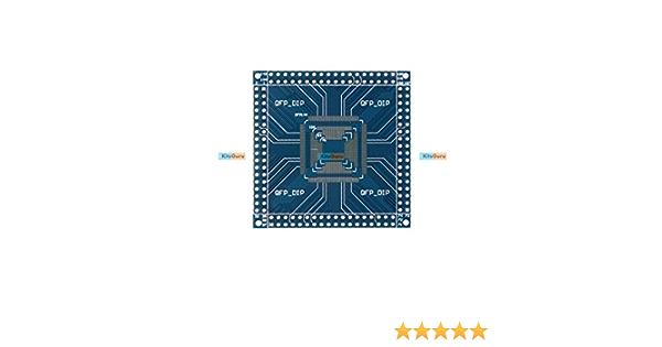 qianqian56 QFP//TQFP//LQFP 32//44//48//64//100//144 Pin zu DIP Pin Board Adapter Konverter