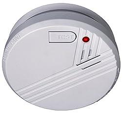 Flamingo Optischer Rauchmelder, Feuermelder geprüft nach DIN EN 14604, weiß, FA23