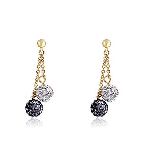 molly-glitz-glitz-blitz-14k-gold-plated-white-black-crystal-balls-lariat-dangle-earring