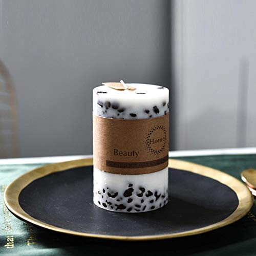 Kreative DuftkerzenBohnen Säule KerzeRomantische Candle-Light -Atmosphäre Wachs Groß -