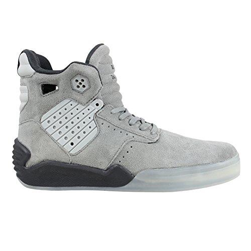 SUPRA Skateboard Shoes SKYTOP IV GRAY/CHARCOAL TRANSLUCENT Grey/Charcoal Translucent