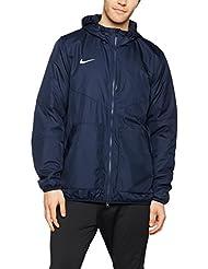 Nike Team Fall Jacket - Chaqueta unisex, color negro / blanco (obsidian/dark obsidian/white), talla XXL