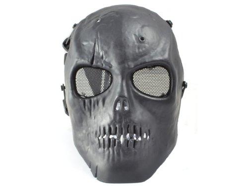 """Softair Protektor Maske """"One Man Army"""" (schwarz) des Herstellers Paintstar®"""