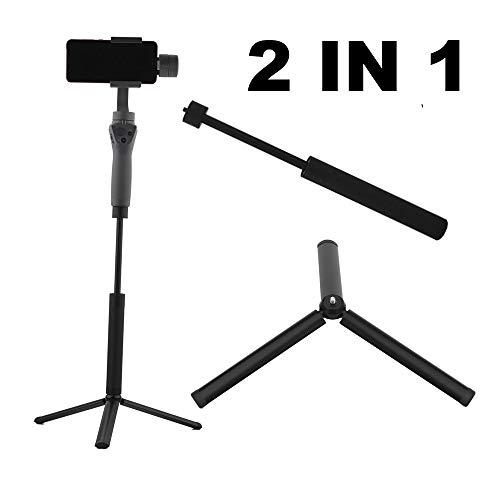 HAMISS Extension bar Stick and Portable Folding Tripod for DJI OSMO Mobile 2 Feiyu Vimble Zhiyun Smooth Handheld Gimbal Action Camera -